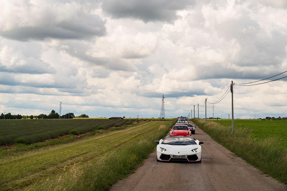 Lavender route in Provence - Verdon / Valensole - Supercar driving tour