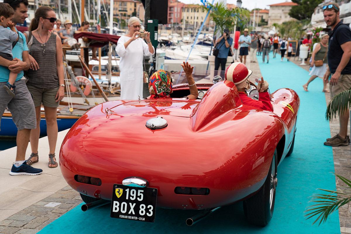 Saint-Jean-Cap-Ferrat Prestige 2018 - Ferrari 195 / 121 LM 1951
