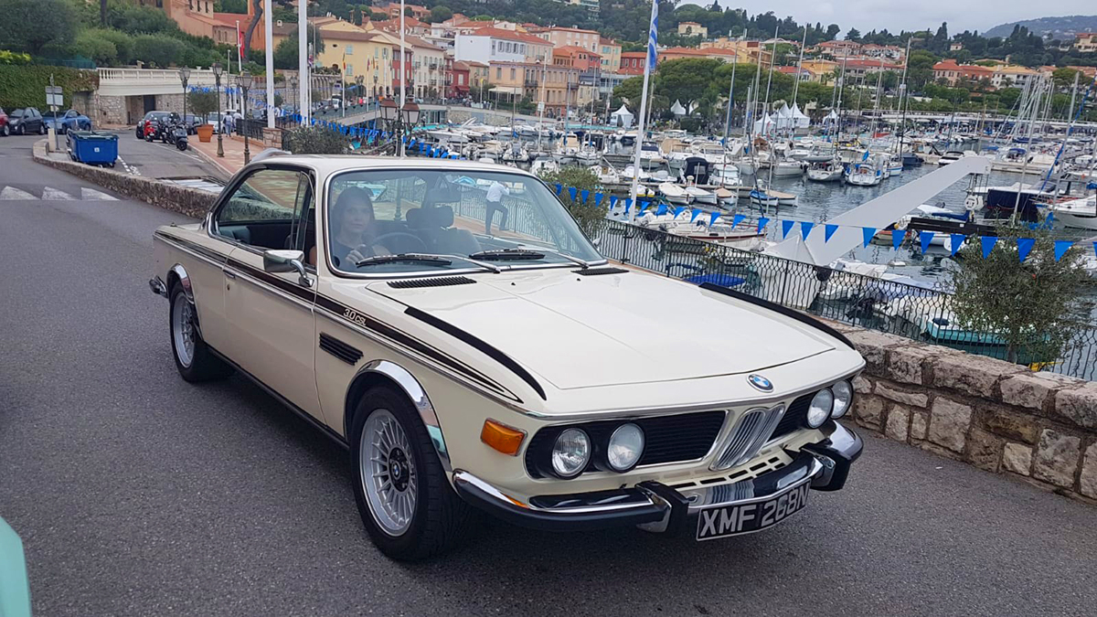 BMW E9 3.0 CSL - Saint-Jean-Cap-Ferrat Prestige 2018
