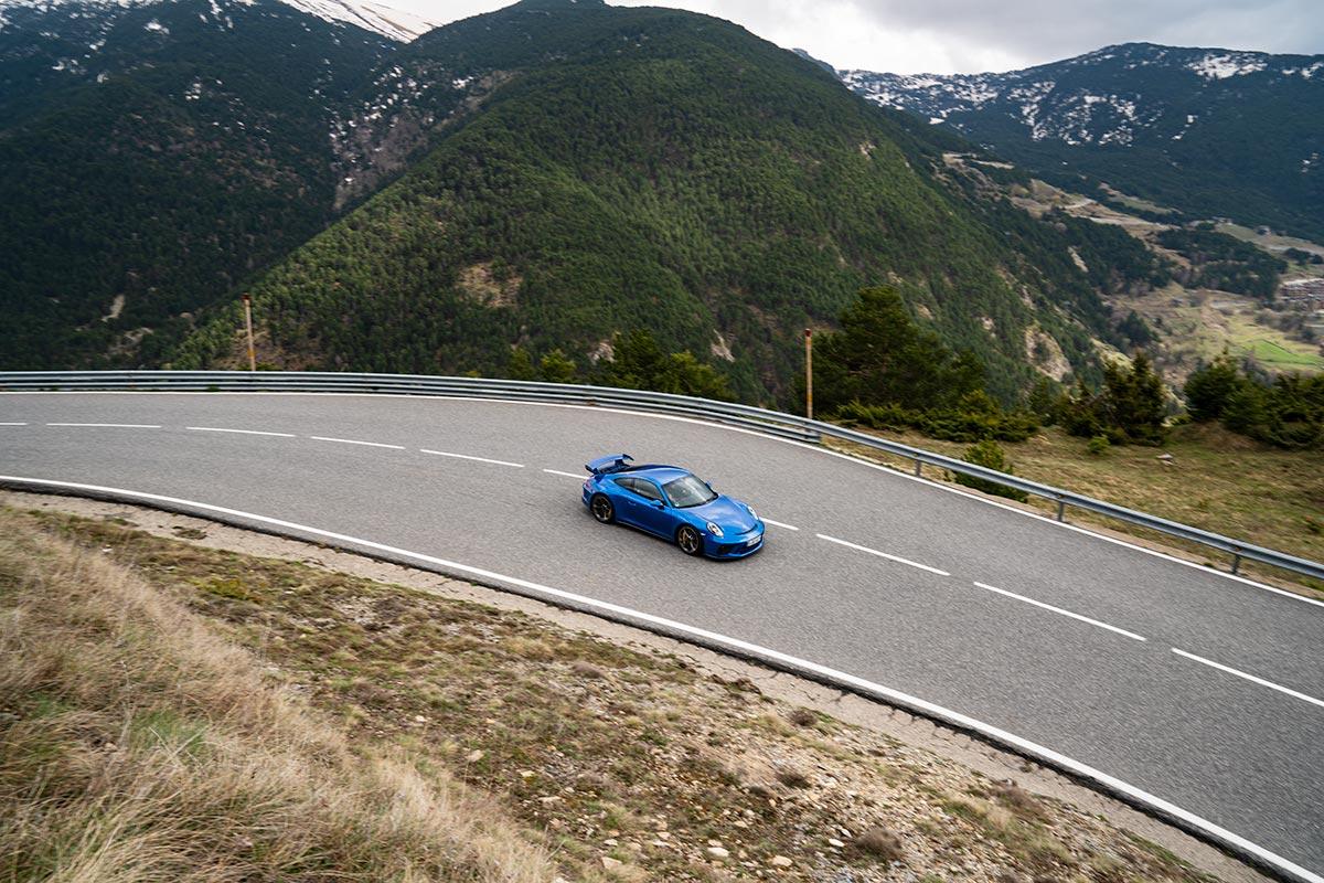Porsche road trip - Porsche 911 (991.2) GT3 - Andorra