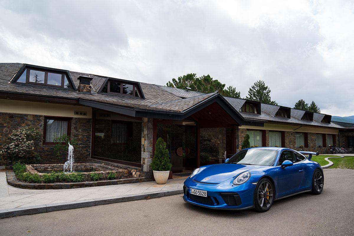 Porsche road trip - Porsche 911 (991.2) GT3 - Hotel El Castell de Ciutat