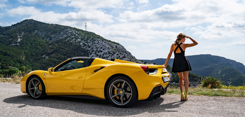 Route Napoleon In A Ferrari 488 Spider Cote D Azur S Best Driving Road