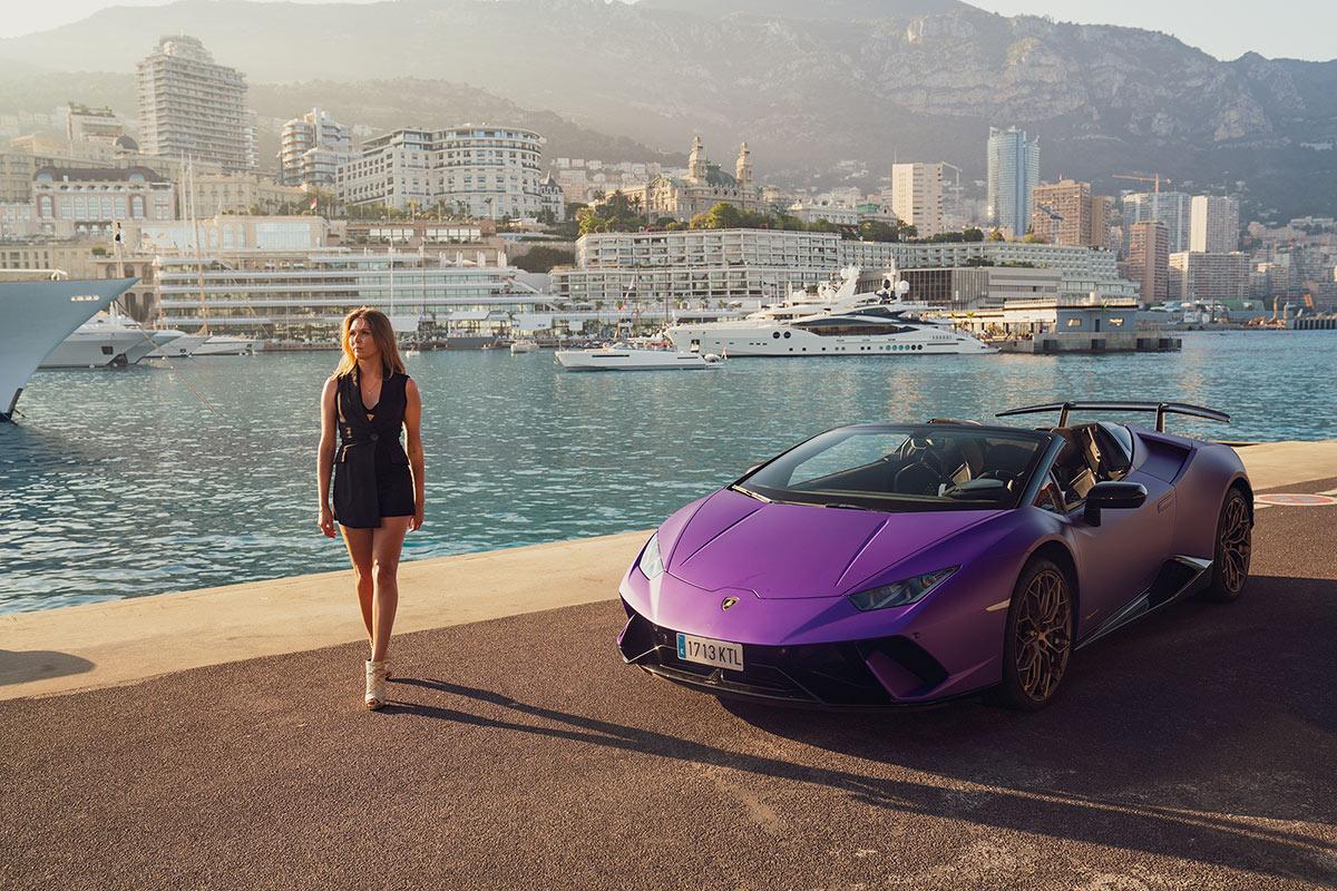Lamborghini Huracan Performante Spyder - Monaco