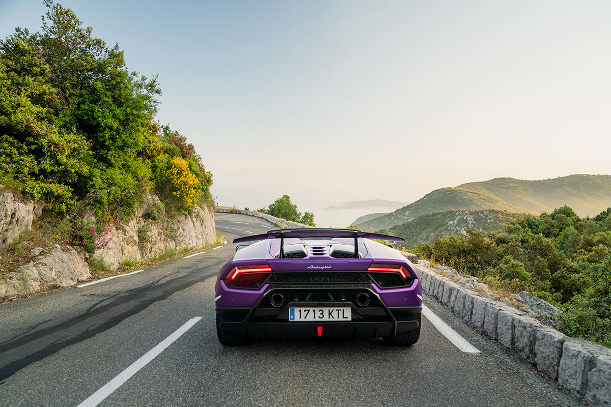 Lamborghini Huracan Performante Spyder - South of France