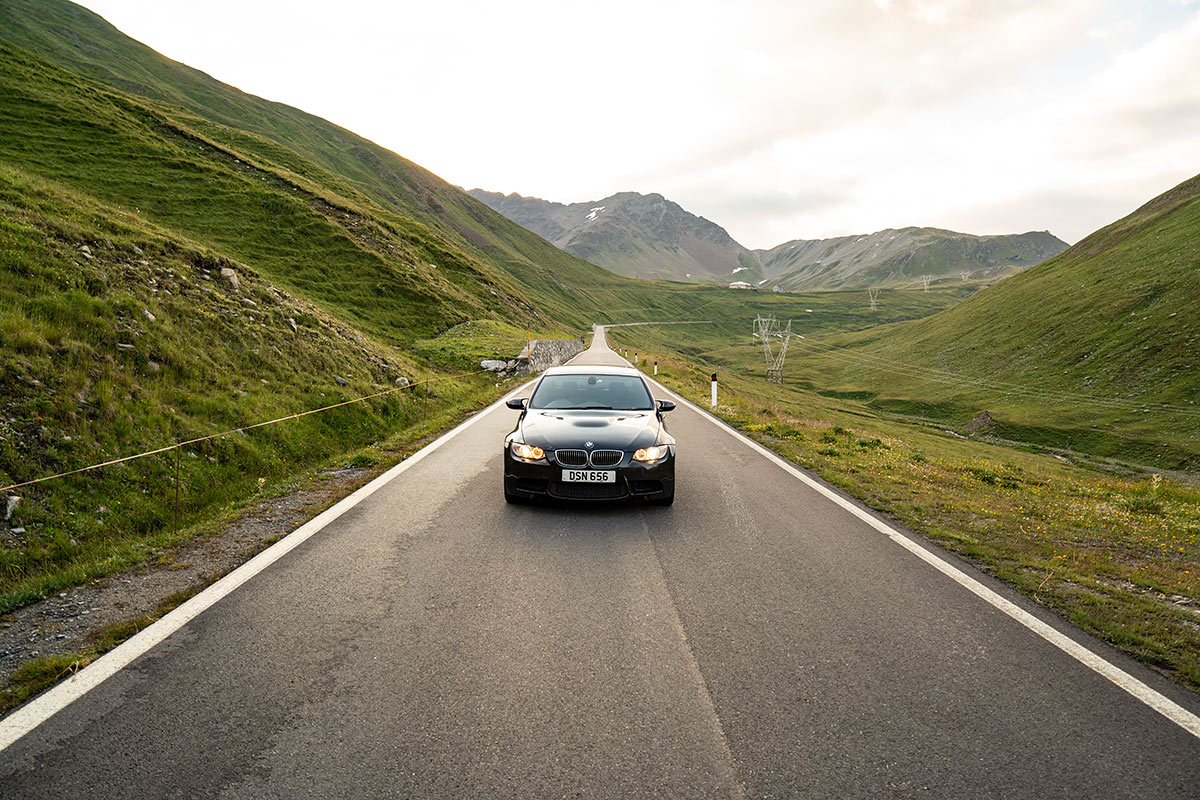 Stelvio Pass - BMW E90 M3