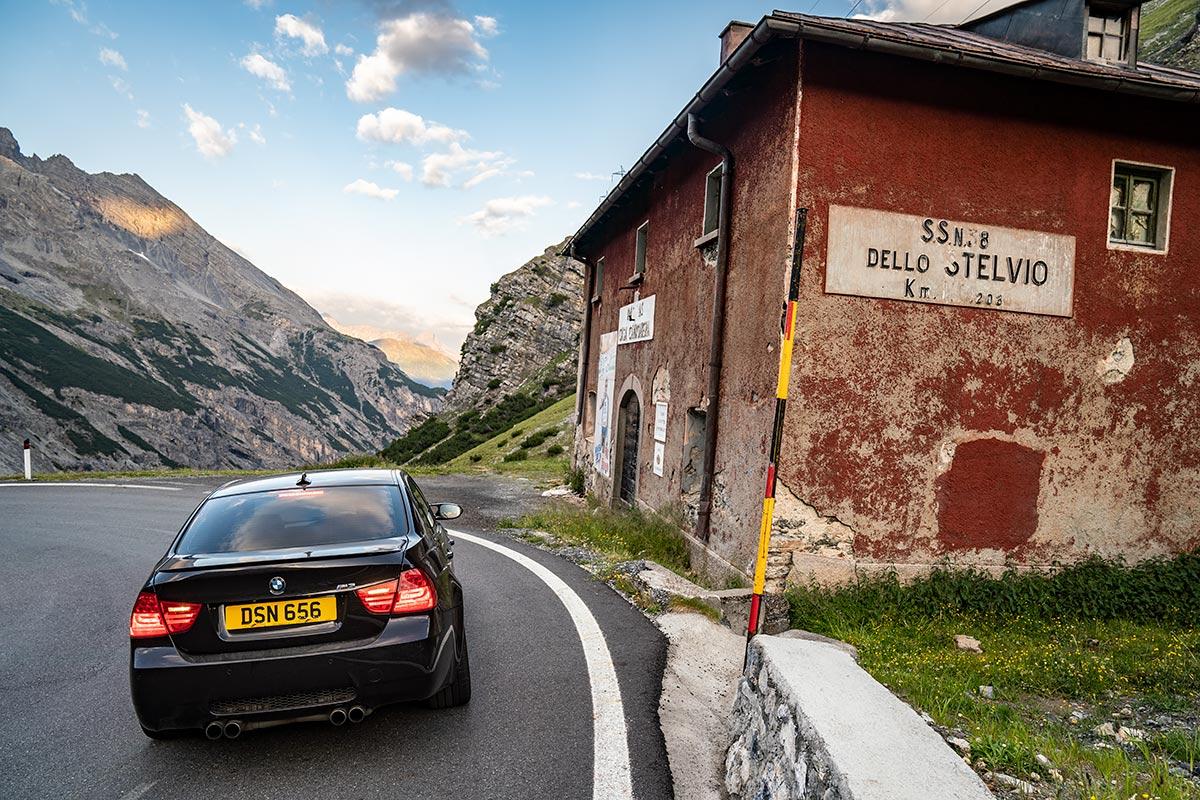 BMW E90 M3 - Stelvio Pass