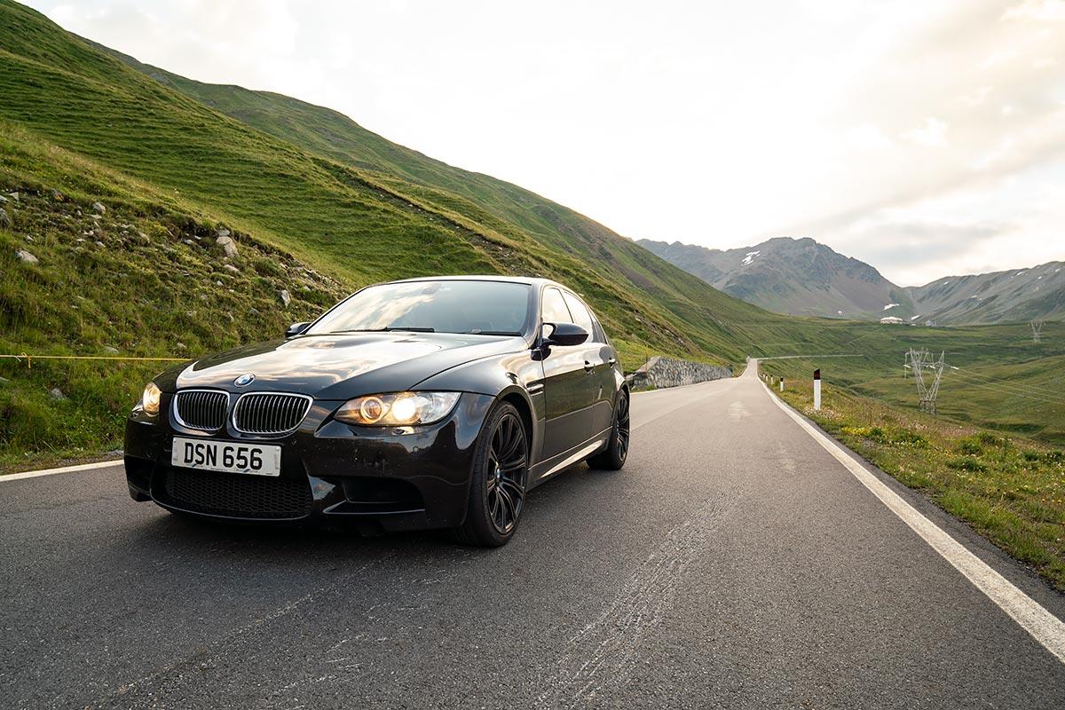 BMW E90 M3 - Passo Stelvio