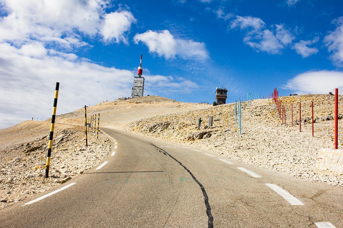 Col du Mont Ventoux road
