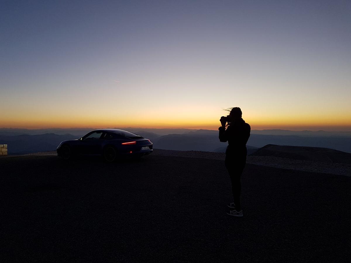 Col du Mont Ventoux sunrise