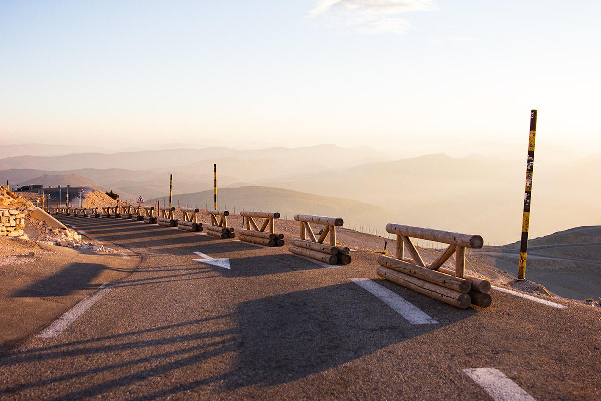 Mont Ventoux mountain pass