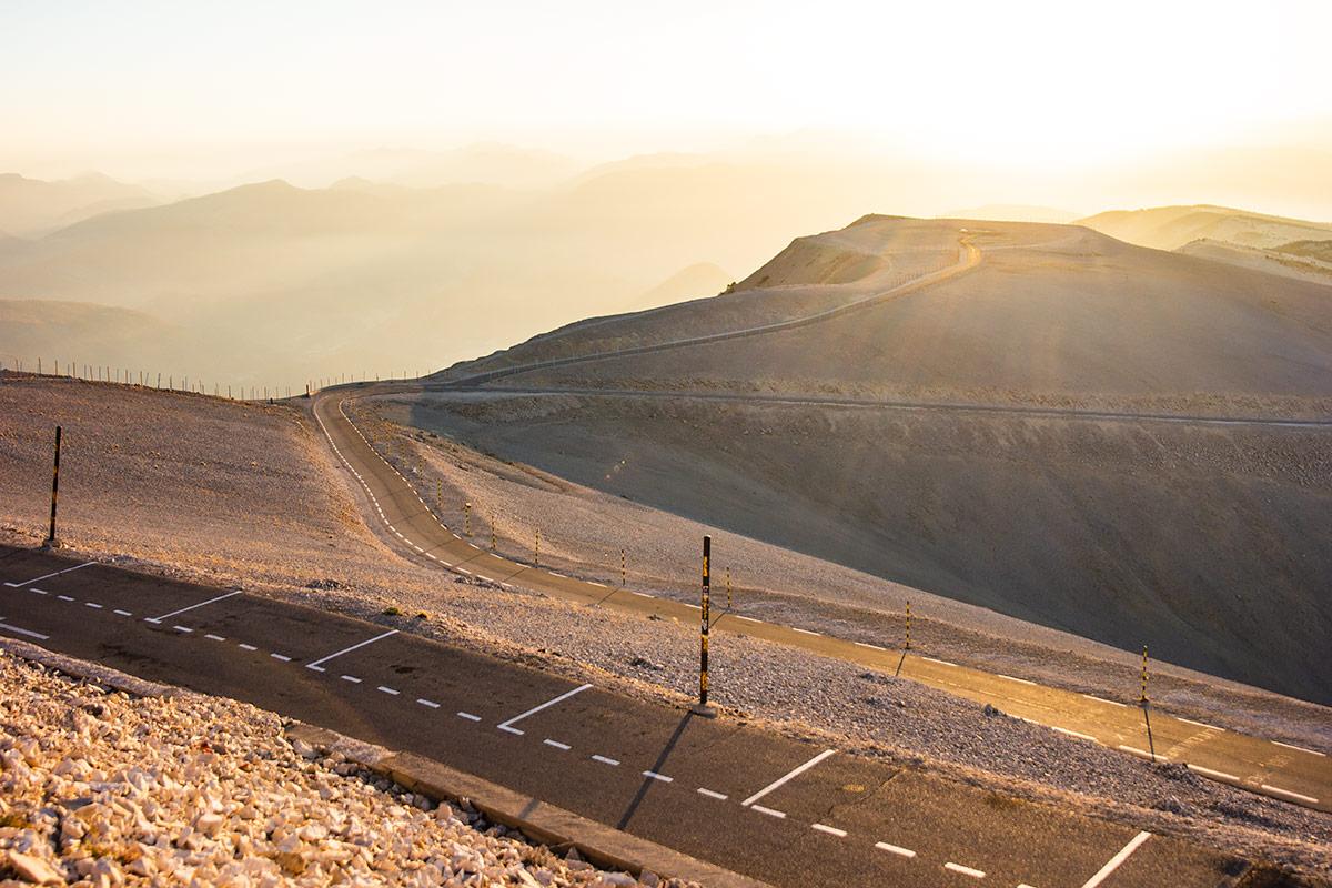Mont Ventoux golden hour