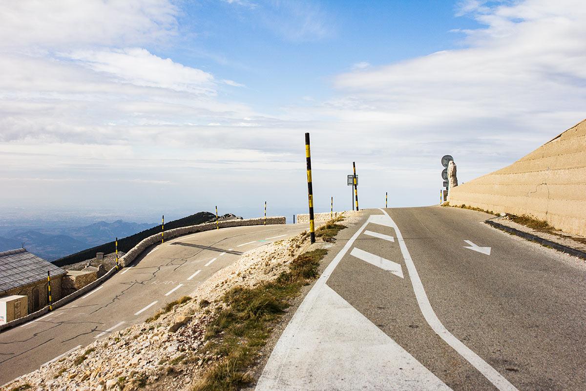 Col du Mont Ventoux corner