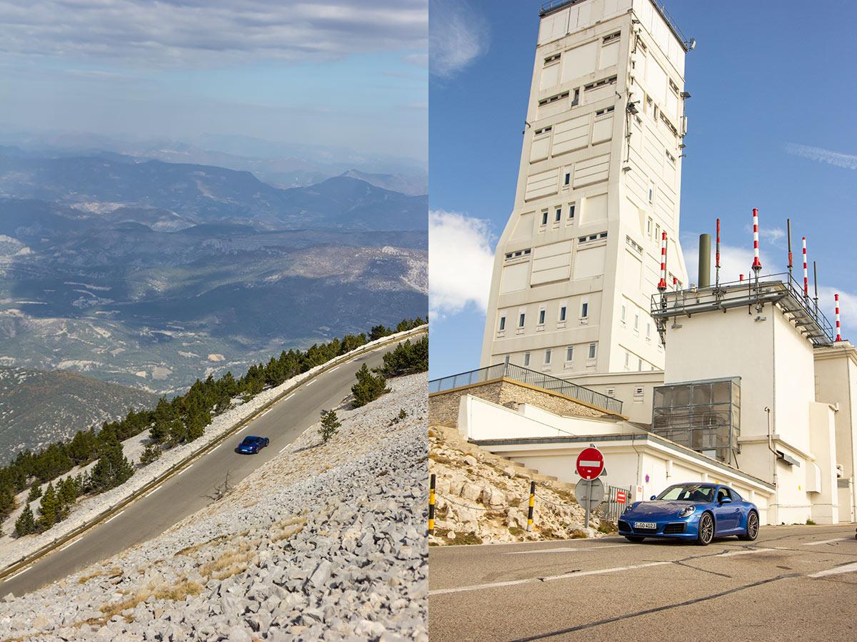 Col du Mont Ventoux driving tour