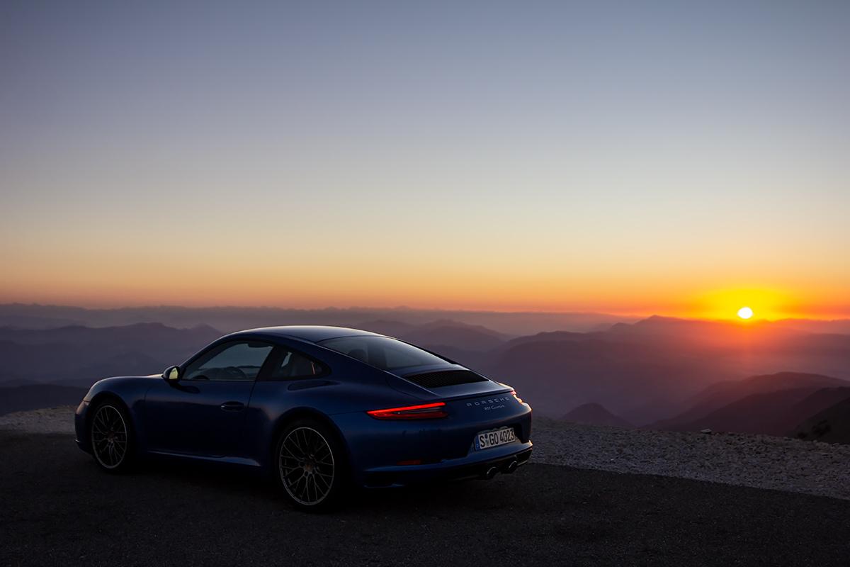 Col du Mont Ventoux dawn
