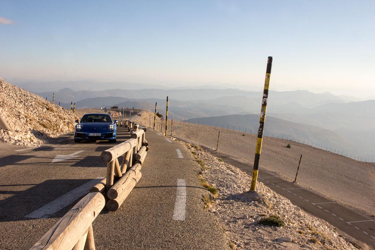 Mont Ventoux Porsche drive