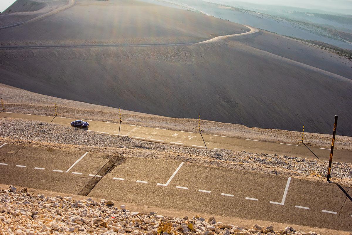 Col du Mont Ventoux Porsche road trip