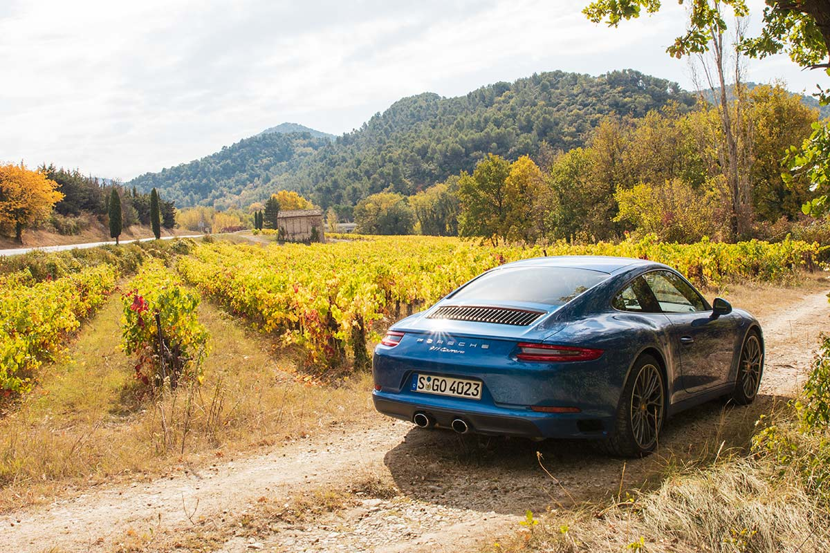 Provence vineyard road trip