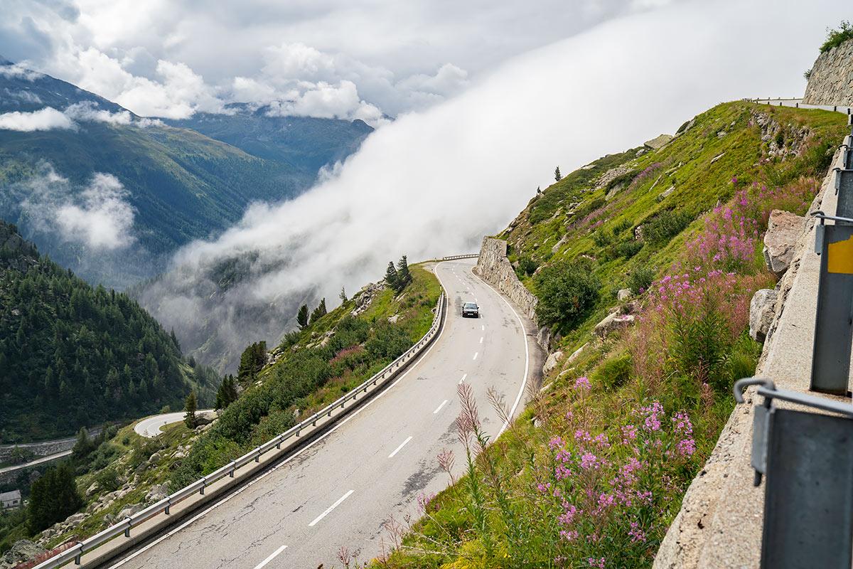 BMW E30 M3 tour Alps