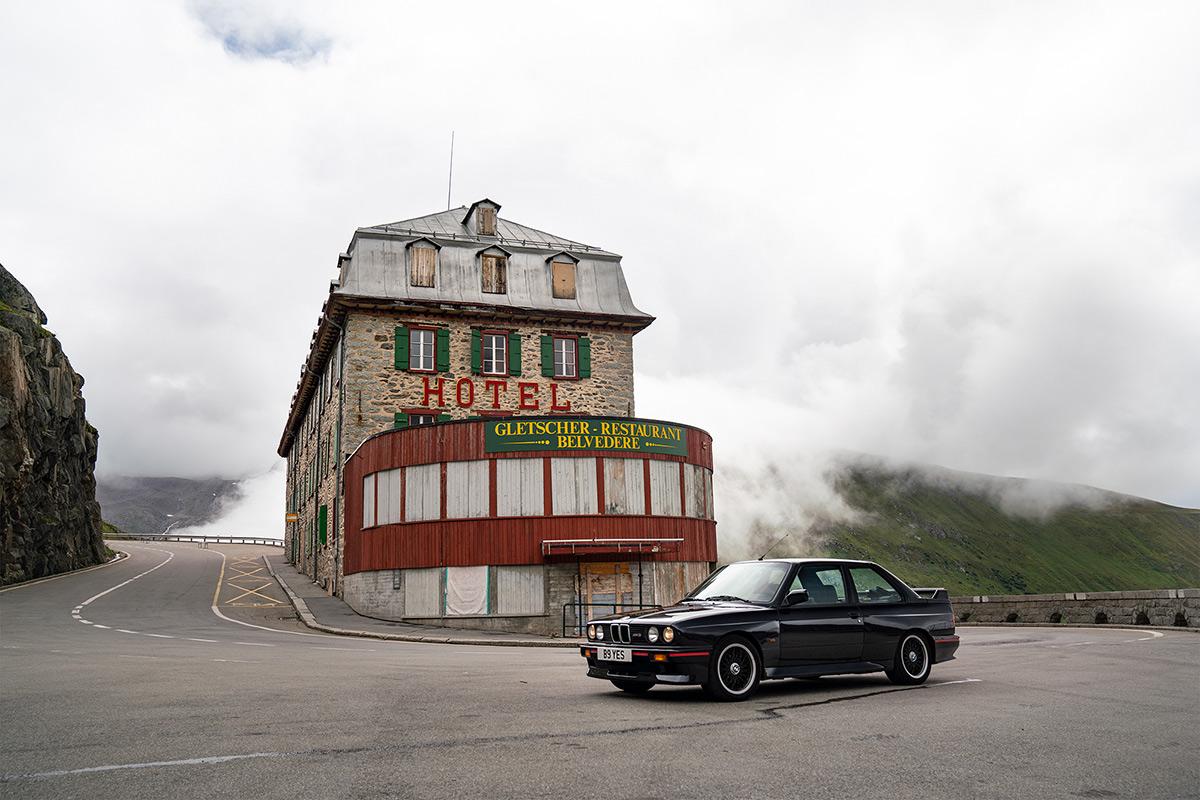 BMW E30 M3 Furka Pass - Hotel Belvedere