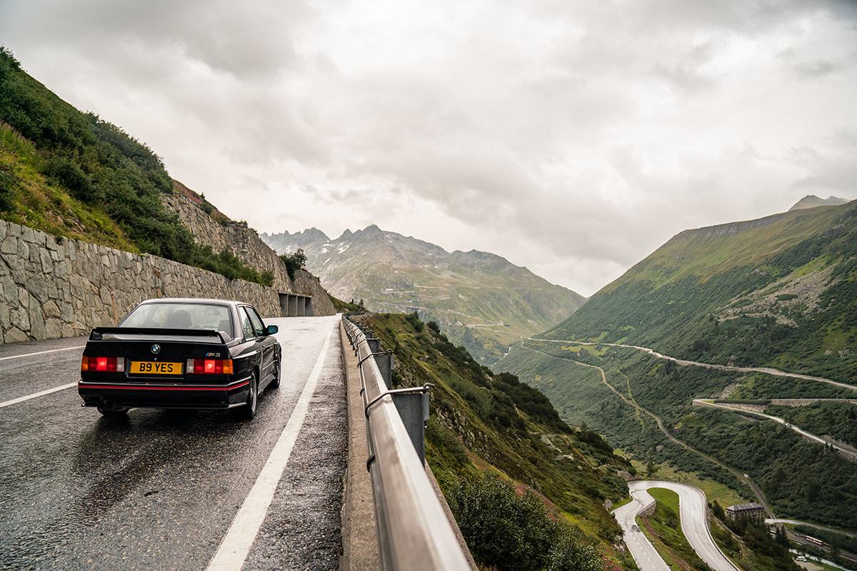 BMW E30 M3 Swiss Alps