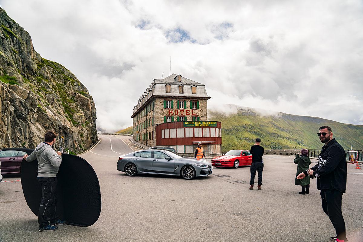 BMW 8-Series Furka Pass