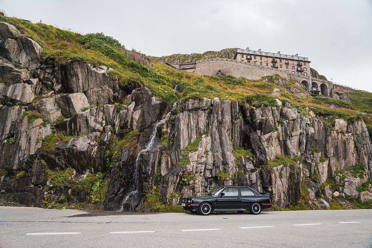 Furka Pass waterfall