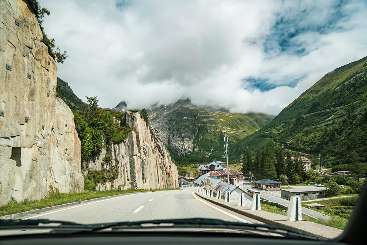Gletsch - Swiss Alps