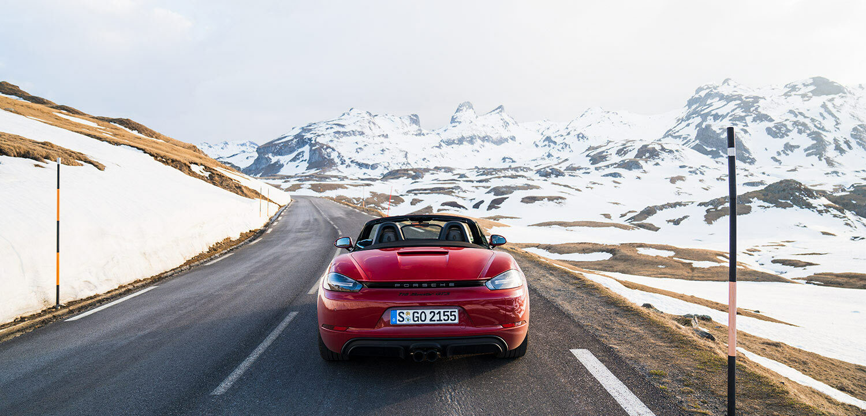 Porsche 718 Boxster GTS road trip in Spain