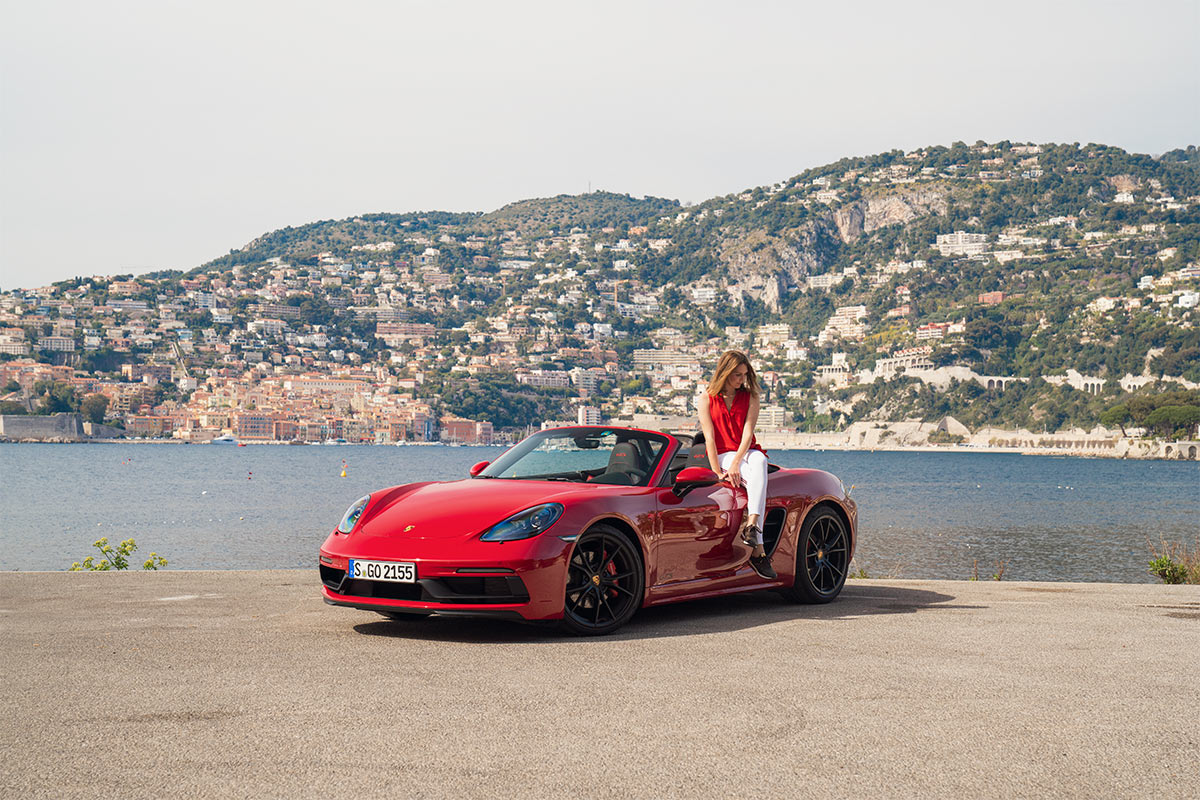 Sara Norris - getpalmd - Porsche