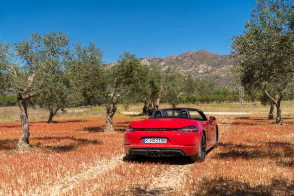 Porsche 718 Boxster GTS in Spain