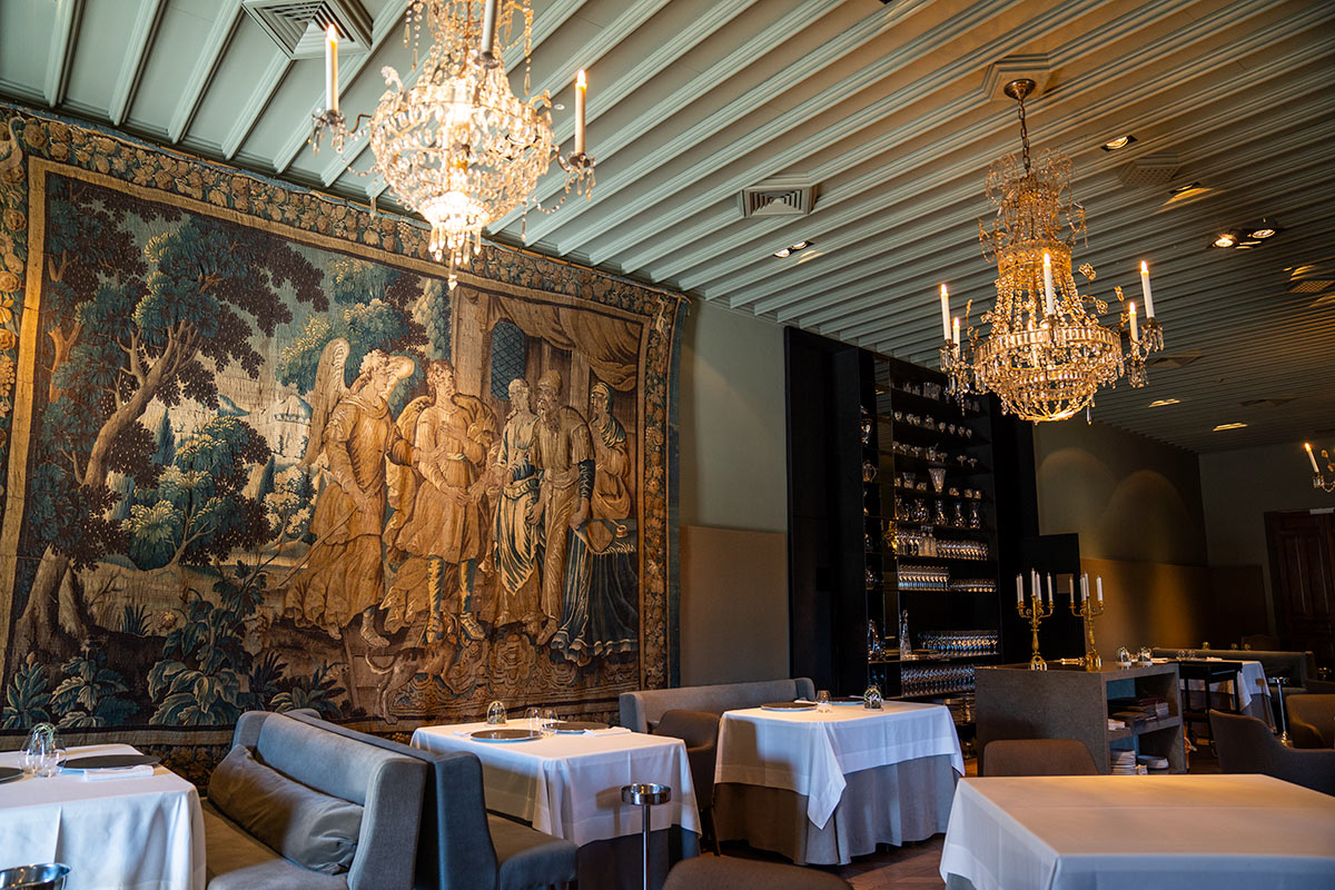 Castell Peralada Michelin restaurant