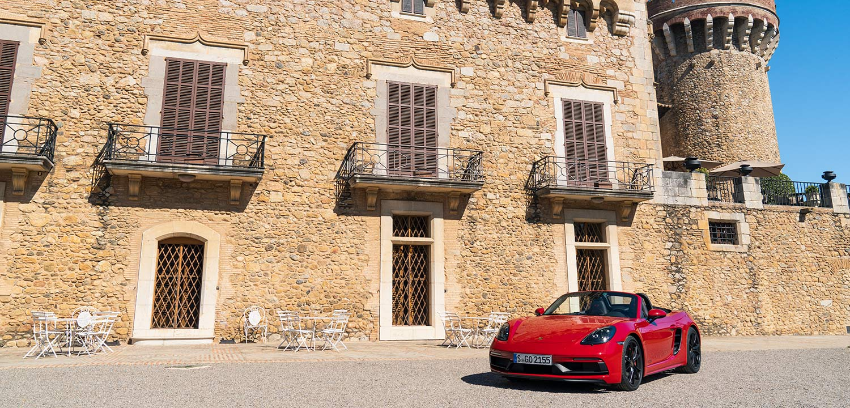 Castell Peralada - Porsche 718 Boxster GTS