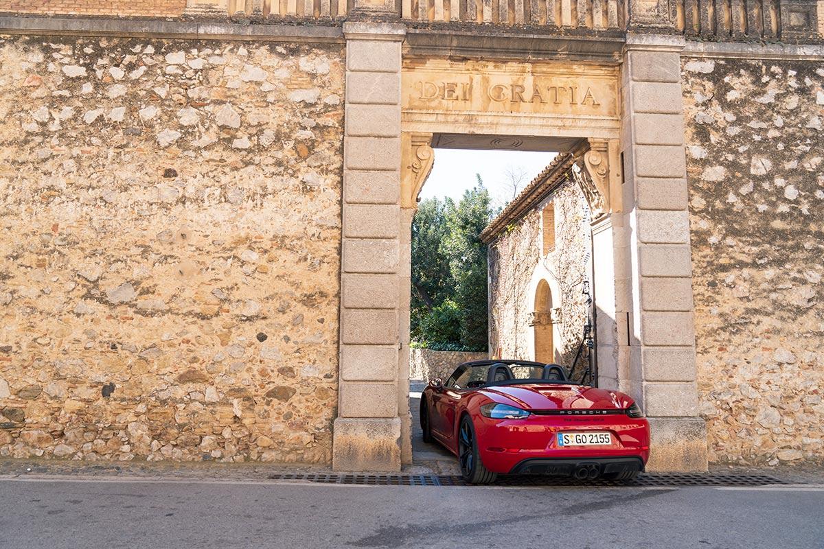 Castell de Perala Porsche 718 Boxster GTS