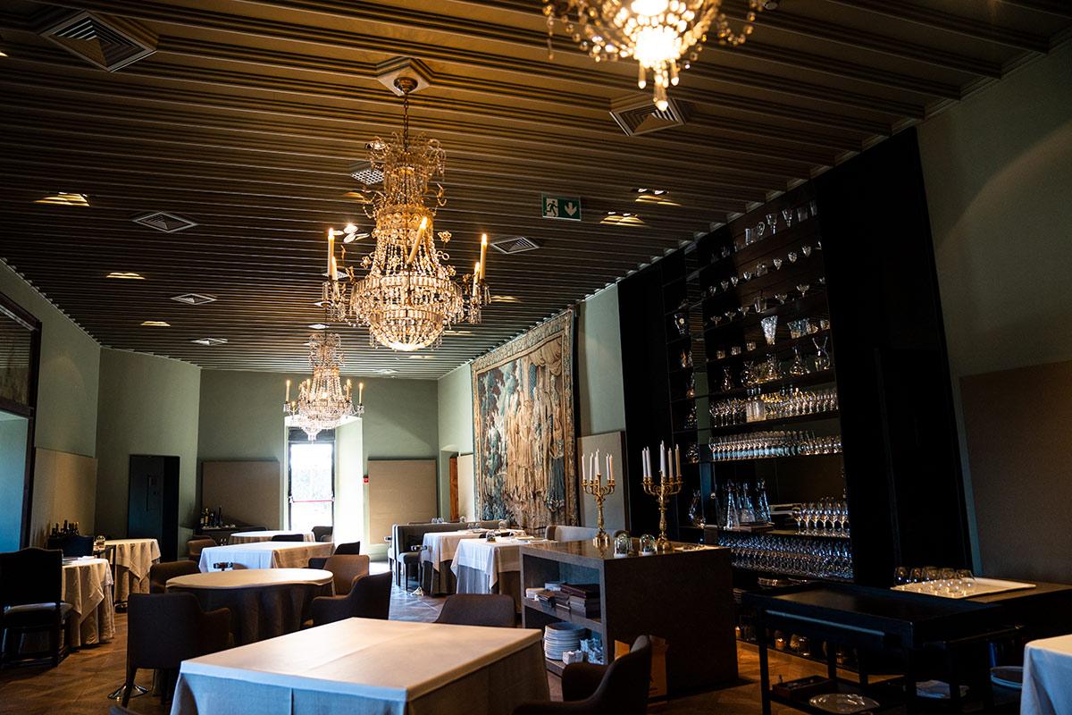Castell Peralada gourmet restaurant