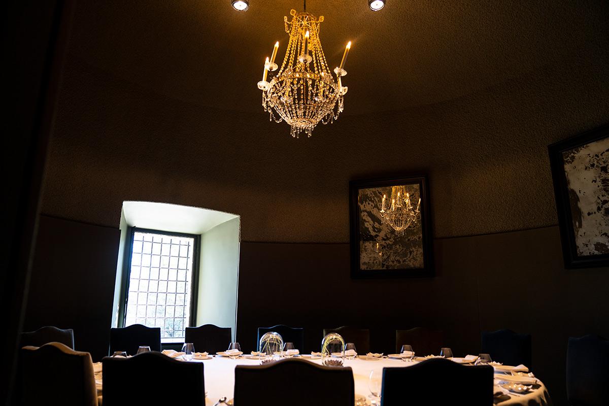 Castell Peralada dining room