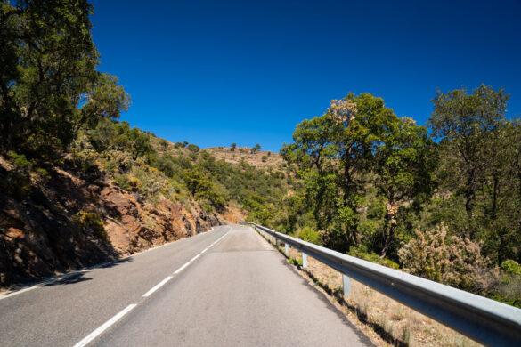 Costa Brava driving road