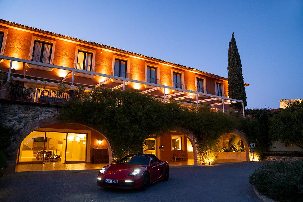 Porsche 718 Boxster GTS Hotel Peralada